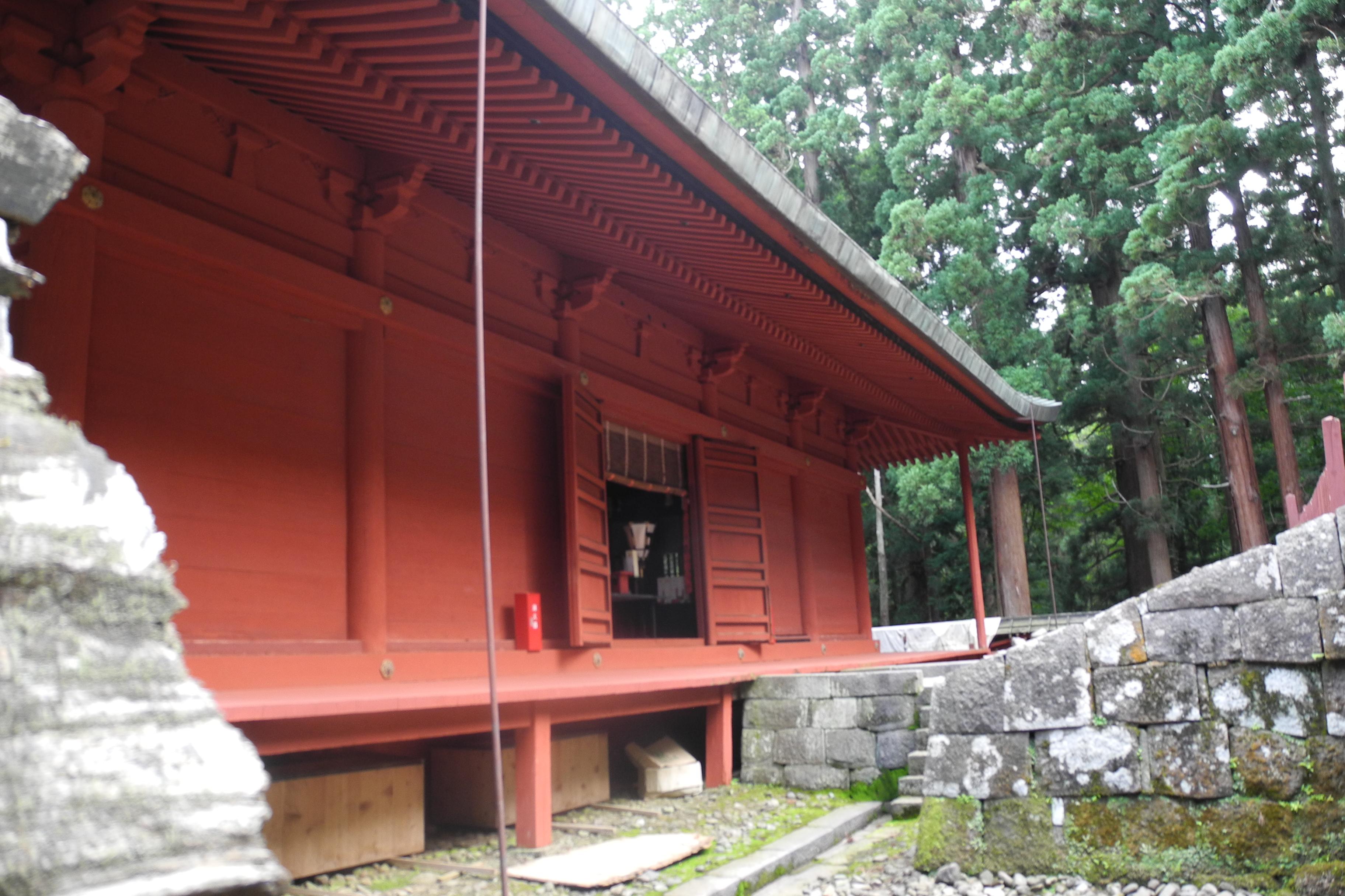 8-1-2 岩木山神社拝殿-4