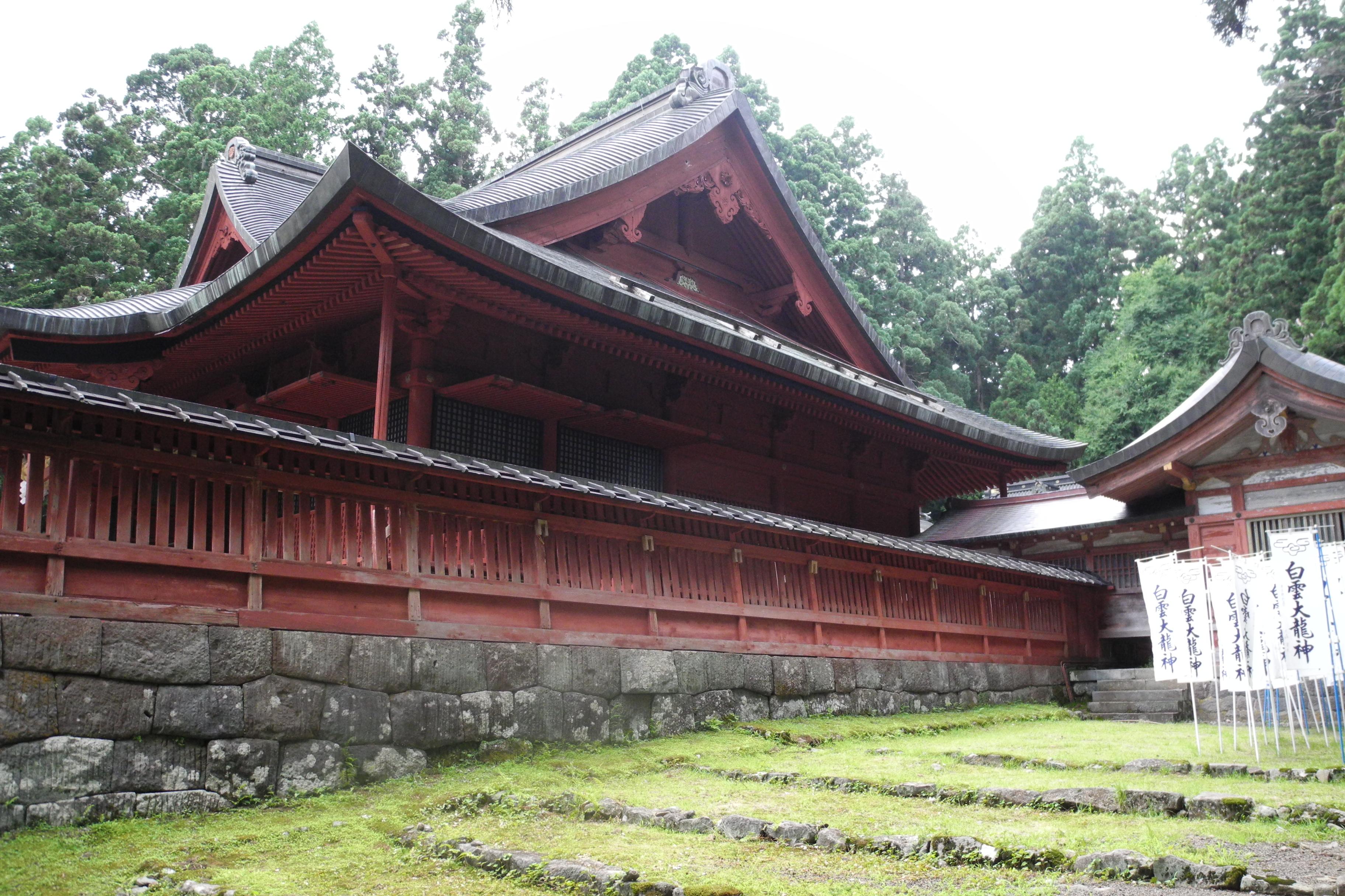 8-1-2 岩木山神社拝殿-3