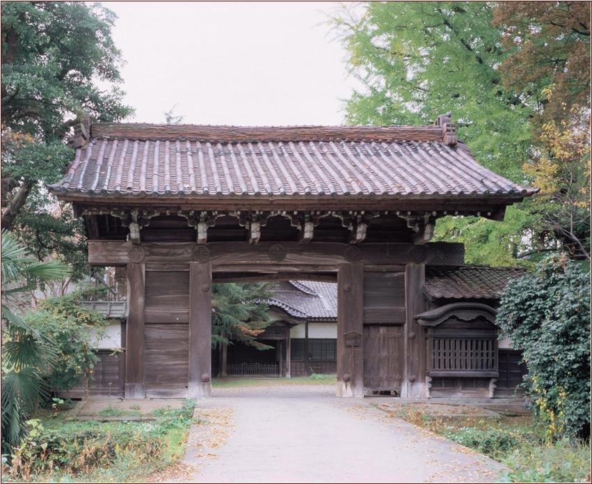8-2-4 勝興寺 式台門