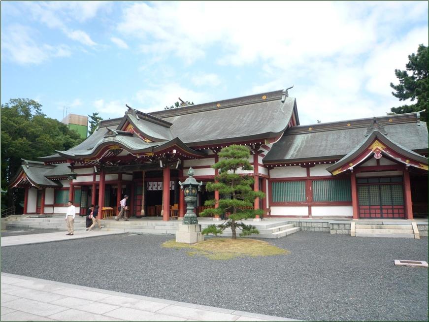 8-2-5 気比神社 拝殿