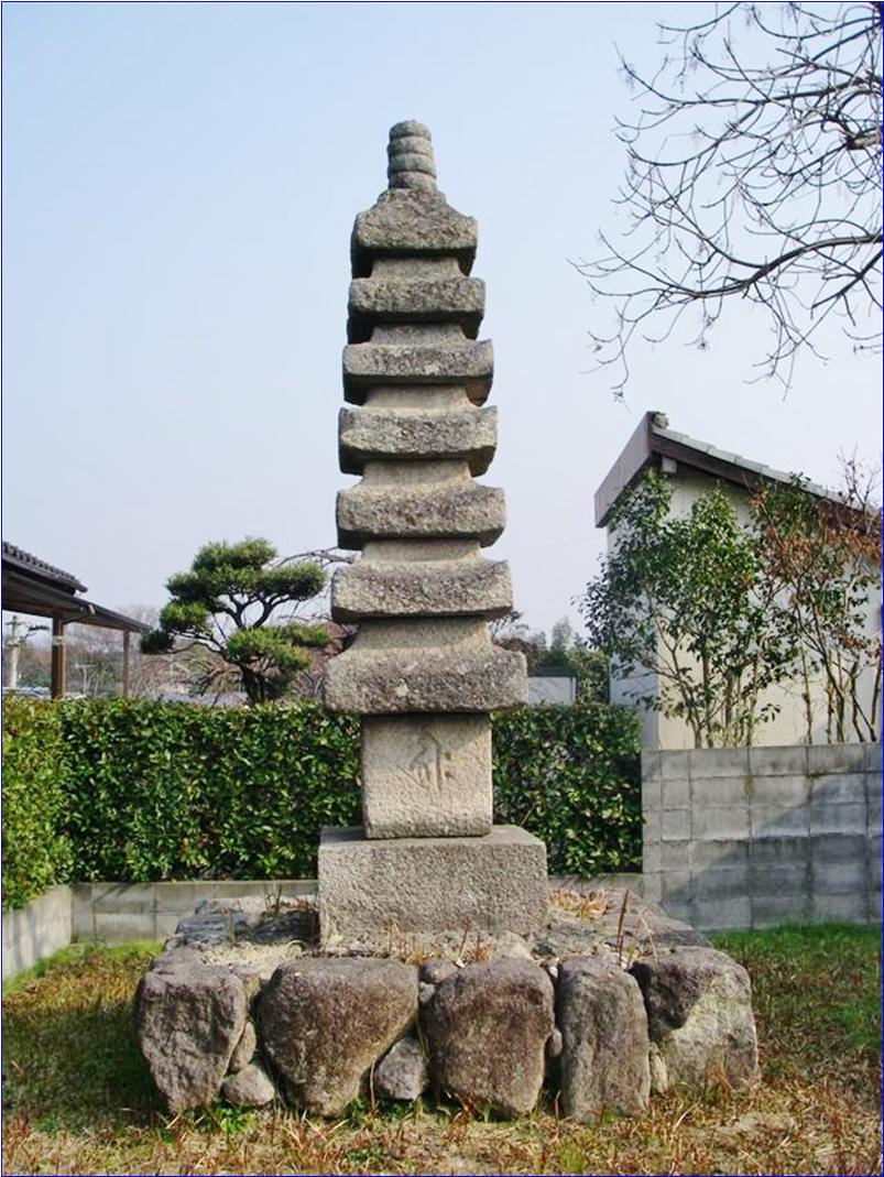 8-9-1 七重塔(般若寺石造七重塔)20150615