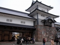 金沢城公園「橋爪門」と「玉泉院丸庭園」