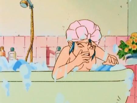 ゲンジ通信あげだま 九鬼麗の胸裸入浴シーン60