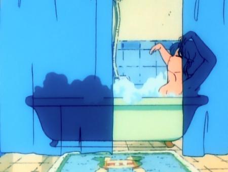 ゲンジ通信あげだま 九鬼麗の胸裸入浴シーン64