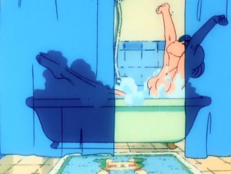 ゲンジ通信あげだま 九鬼麗の胸裸入浴シーン65