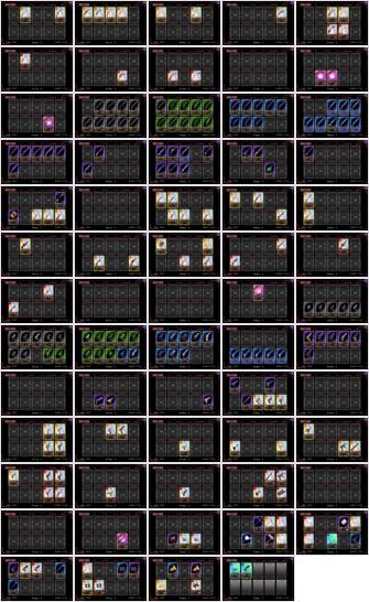 2015/05/31 魔法少女まどか☆マギカオンライン 武器一覧その2
