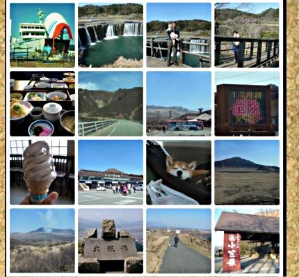 コルクボード・九州旅行2