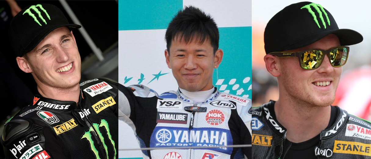 2015_YAMAHA FACTORY RACING TEAM Rider Line-up at the Suzuka 8 Hours Endurance Road Race