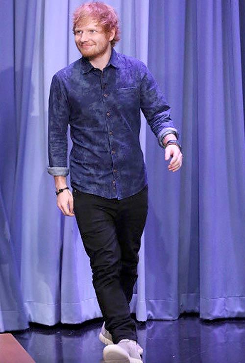 エド・シーラン(Ed Sheeran):アディダス×イージー750ブースト(Adidas Yeezy 750 Boost)