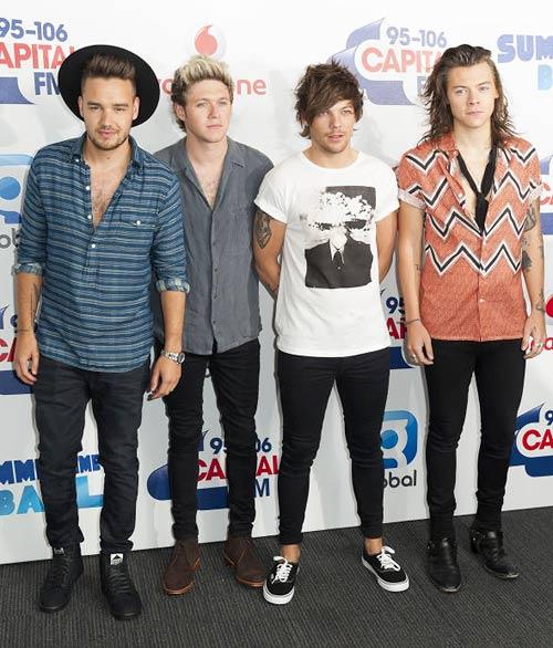 ワン・ダイレクション(One Direction):サンローラン(Saint Laurent)/ルイヴィトン(Louis Vuitton)