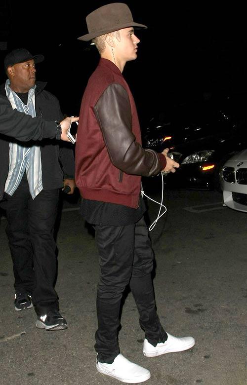 ジャスティン・ビーバー(Justin Bieber):アレキサンダーマックイーン(Alexander McQueen)