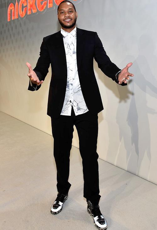 カーメロ・アンソニー(Carmelo Anthony):ゼインローブ(Zanerobe)バレンシアガ(Balenciaga)