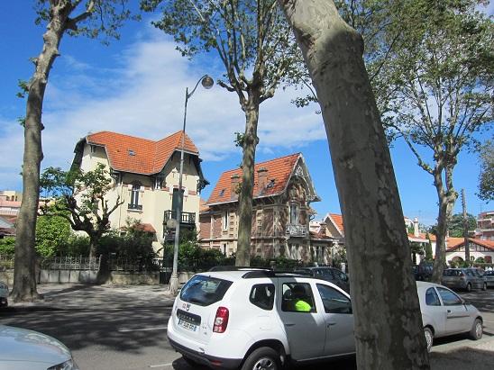 アルカッションの高級住宅