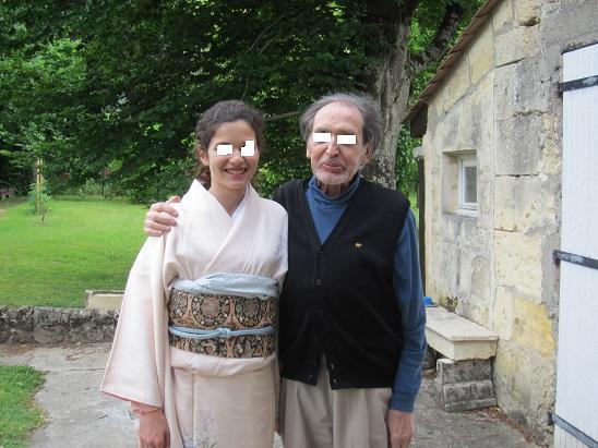 アンリモルガンと彼の姪の次女