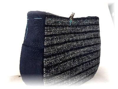 裂き織りバッグ5-3