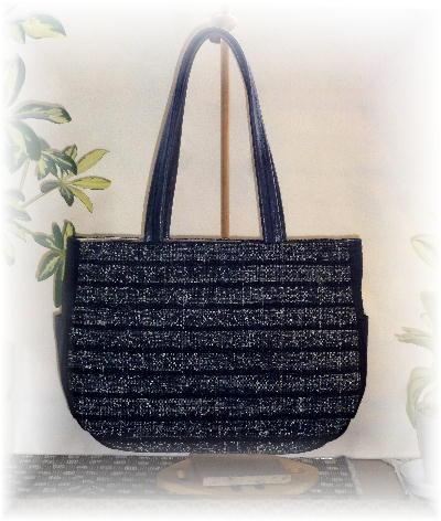 裂き織りバッグ5-5