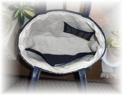 裂き織りバッグ5-7