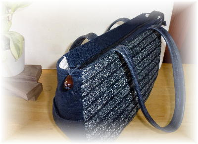 裂き織りバッグ6-1