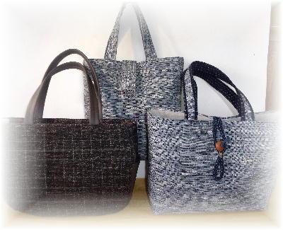 裂き織りバッグ6-2