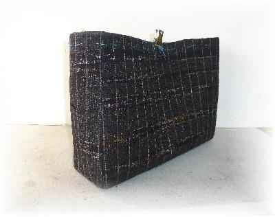 裂き織りトート10-4