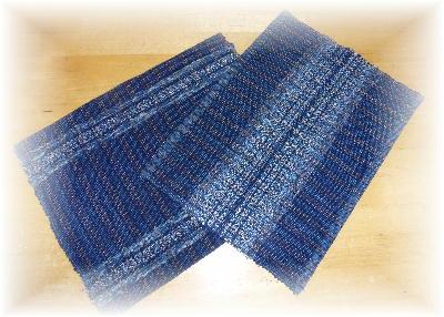 裂き織りマット1