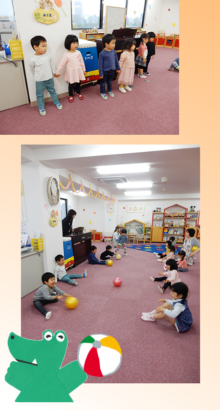 STEP1 ボール②