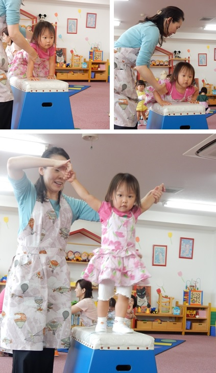 6月18日 Baby MIE 初跳び箱①