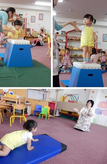 6月18日 Baby MIE 初跳び箱②