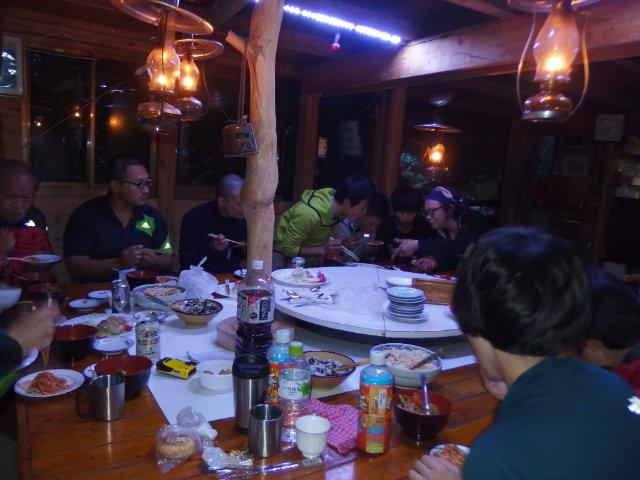 2015 ボッカ前日選手食事2