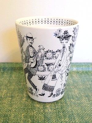 アラビア エミリア 花瓶