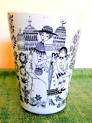 アラビア エミリア 花瓶2