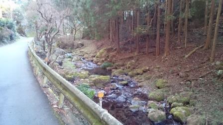 20141223⑤NARIKIコースは川沿いでいい感じ