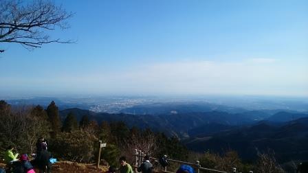 20150104②日の出山からの風景
