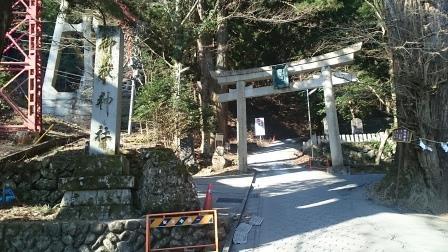 20150329①御岳山入口