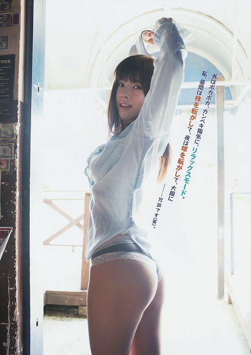 松川佑依子巨乳グラビアおっぱい画像b45