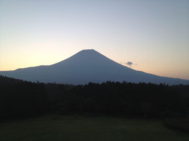 富士山(日の出前)