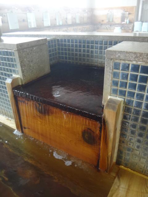主浴槽湯口
