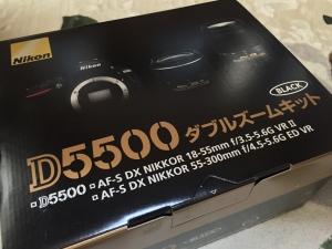 Nikon D-5500 ダブルズームキット