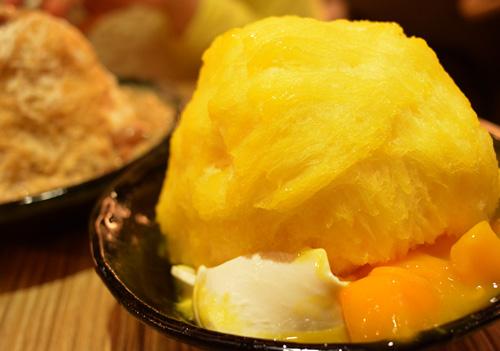 【アイス】アイスモンスター「マンゴーかき氷ー芒果綿花甜」01