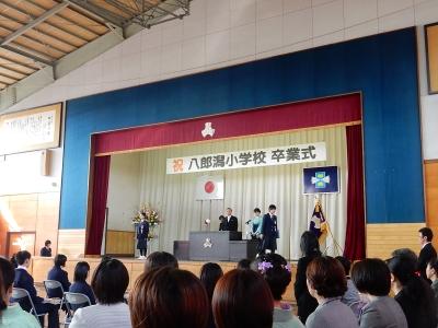八小卒業式 014