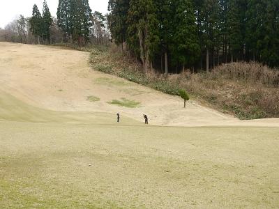 ゴルフ~南秋田CC 018