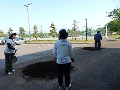 ゴルフ  南秋田 033