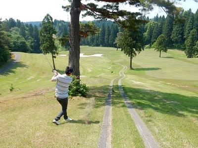 ゴルフ  南秋田 014