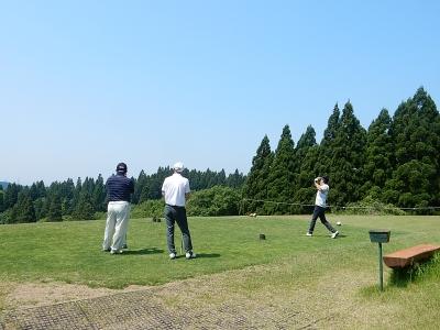 ゴルフ  南秋田 011
