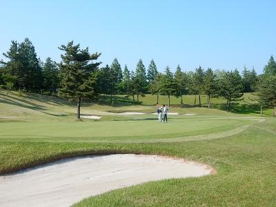 ゴルフ  南秋田 021
