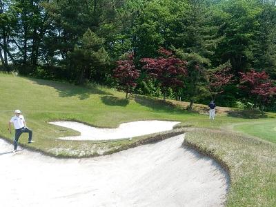 ゴルフ  南秋田 018
