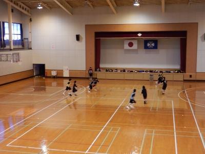 八中バスケ練習 003