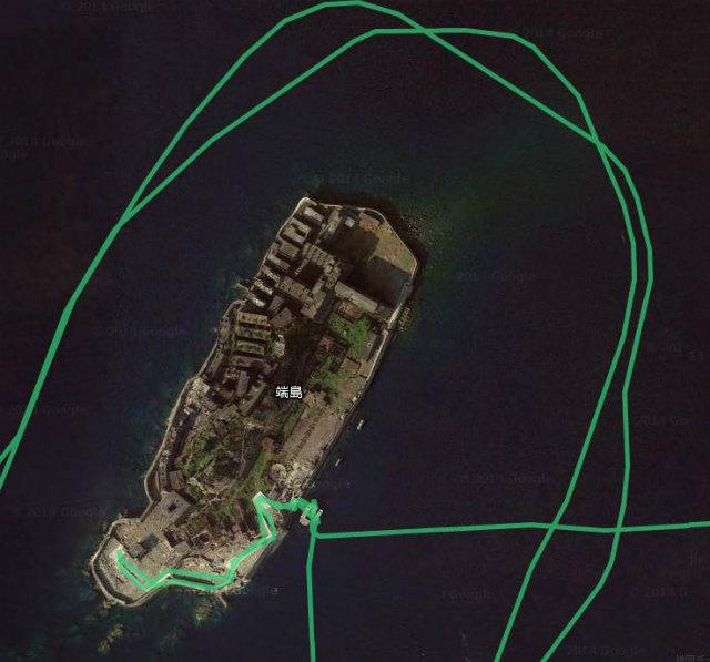 軍艦島ルート