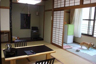 今日は和室です。