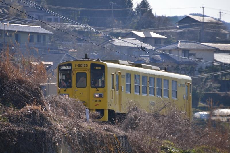 由布岳と列車 (8)